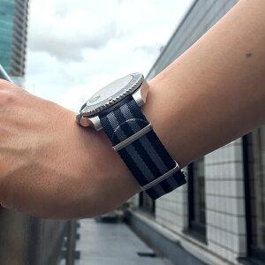 モレラート社製時計ベルトARMY(アーミー)装着イメージ