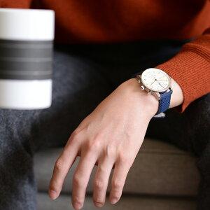 モレラート社製時計ベルトSISLEY(シスレー)装着イメージ