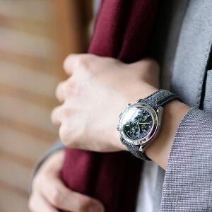 モレラート社製時計ベルトSISLEY(シスレー)装着イメージ2