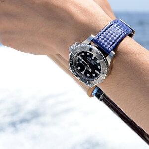 モレラート社製時計ベルトCAPOEIRA(カポエイラ)装着イメージ
