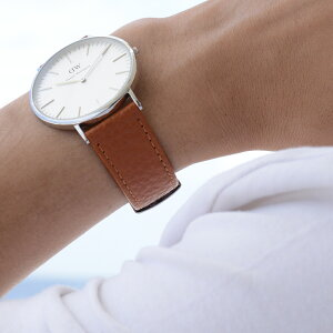 モレラート社製時計ベルトDUSTER(ダスター)装着イメージ
