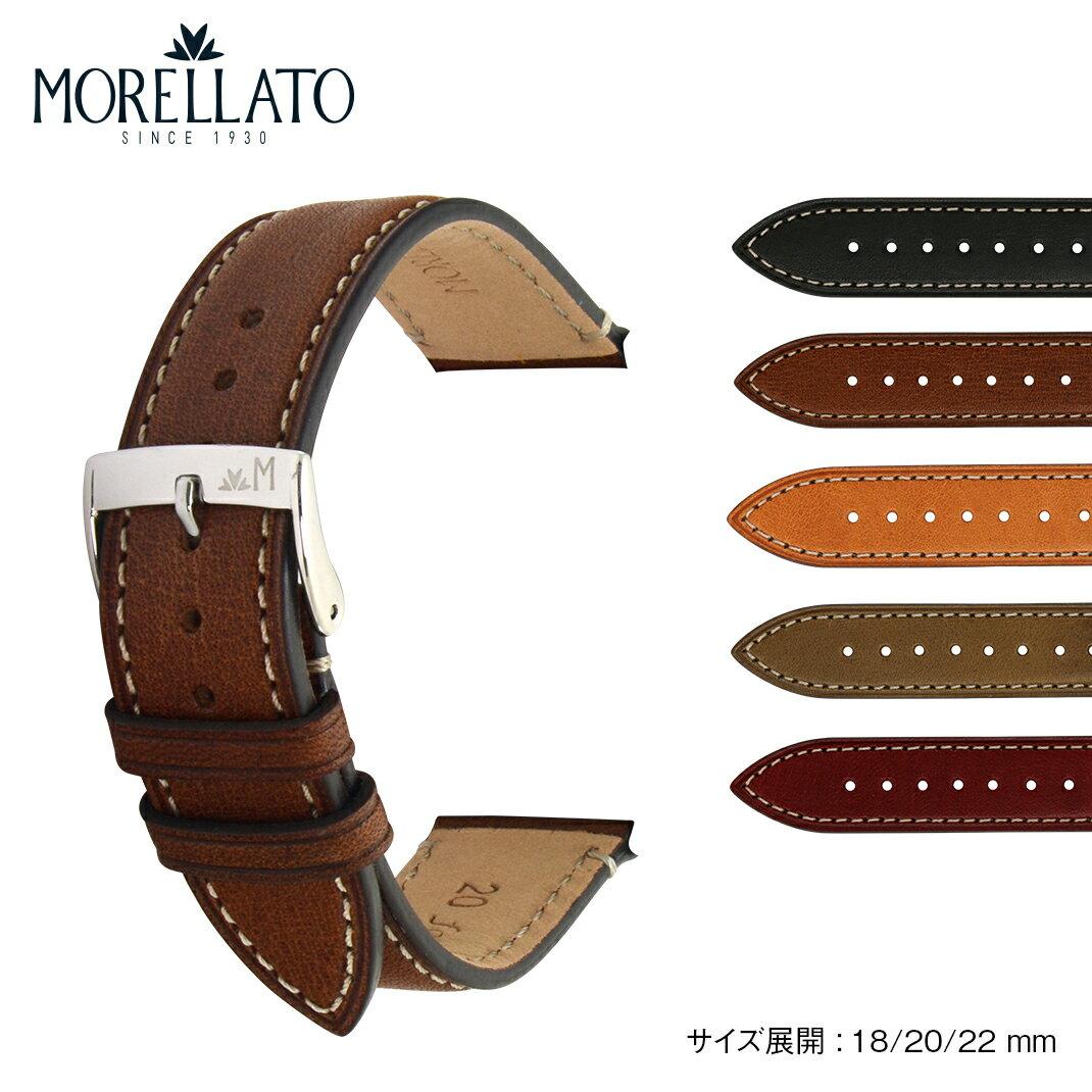 腕時計用アクセサリー, 腕時計用ベルト・バンド MORELLATO EL GRECO applewatch5 applewatch4 applewatch3 X5439B71 18mm 20mm 22mm
