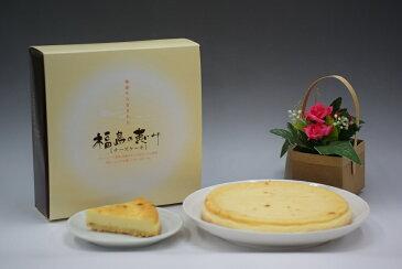 送料無料!福島の恵み2箱 ベイクドチーズケーキ クリスマス ギフト お歳暮 400g×2 直径14cm