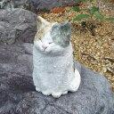 信楽焼  猫オブジェ 陶器 置物