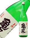 日本酒 地酒 高知 亀泉 特別純米 生 1800ml ※要クール便