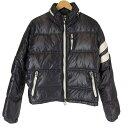 Moncler モンクレール ERIC ダウンジャケット ブラック 黒 サイズ 2 【中古】