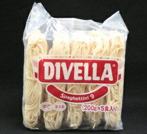 DIVELLA(ディベラ) スパゲッティーニ 1.6mm 冷凍パスタ 200gx5食パック画像