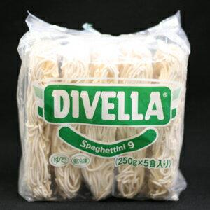 DIVELLA(ディベラ) スパゲッティーニ 1.6mm 冷凍パスタ 250gx5食パック画像