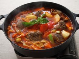 ミツカン麺&鍋大陸キムチチゲスープの素1220g
