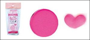 スカルプチュア、3Dアート作りに♪アクリルパウダー 【604】ピンク 100円均一