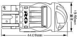 ★RG・LEDストップランプ・12V用T20シングルストップ★RGH-P610・照射角度:360°発光色:赤色消費電力:12V2.0W以下LED素子8個使用