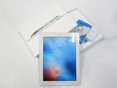 タブレット 中古 箱付き 中古 タブレットパソコン iPad MC980J/A iPad2 32GB White...