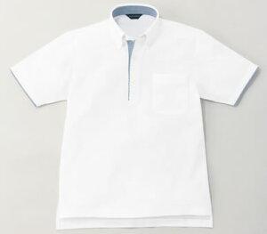 半袖B.Dニットシャツ(Men's & Ladies) 3S〜ELL (ホワイト)