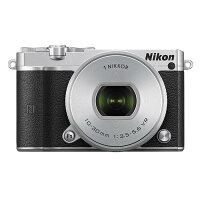 《新品》Nikon(ニコン)Nikon1J5標準パワーズームレンズキットシルバー