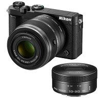 《新品》Nikon(ニコン)Nikon1J5ダブルズームレンズキットブラック