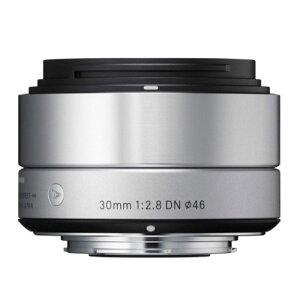 《新品》 SIGMA(シグマ) A 30mm F2.8 DN (マイクロフォーサーズ用) シル…