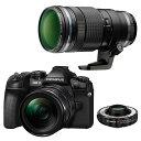【あす楽】《新品》 OLYMPUS (オリンパス) OM-D E-M1 MarkII 12-40mm + 40-150mm F2.8 PROテレコンバ[ ミラーレス一眼カメラ | デジタル一眼カメラ | デジタルカメラ ] 【¥20,000-キャッシュバック対象】[マップカメラオリジナルセット]【KK9N0D18P】