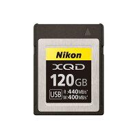 《新品アクセサリー》NikonXQDメモリーカード120GBMC-XQ120G発売予定日:2018年9月下旬