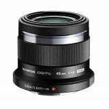【あす楽】《新品》 OLYMPUS(オリンパス) M.ZUIKO DIGITAL 45mm F1.8 ブラック(マイクロフォーサーズ)[ Lens | 交換レンズ ]〔レンズフード別売〕【KK9N0D18P】
