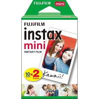 《新品アクセサリー》FUJIFILMチェキ用フィルムinstaxmini2パック(10枚入り)