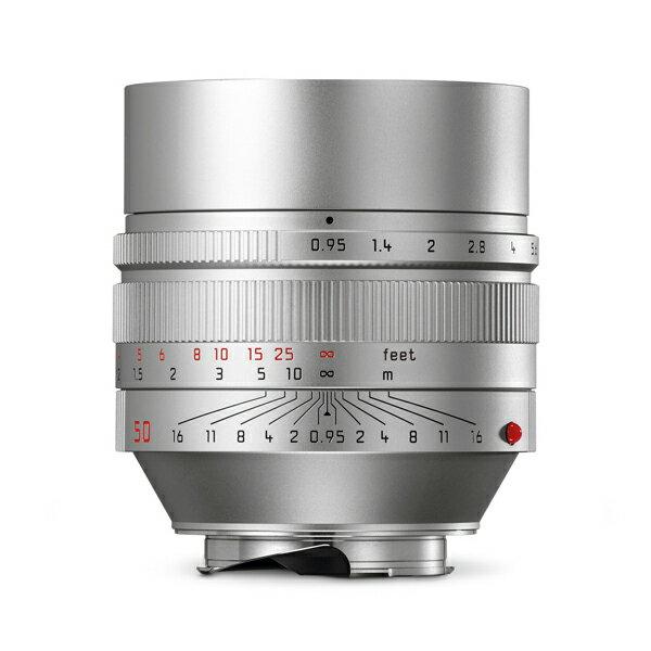 【あす楽】《新品》 Leica(ライカ) ノクティルックス M50mm F0.95 ASPH. シルバー[ Lens | 交換レンズ ]【KK9N0D18P】