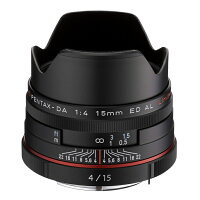 【新品】PENTAXHDDA15mmF4EDALLimitedブラック発売予定日:2013年9月20日(※下取りご希望の際はその旨コメント欄にご記入下さい)