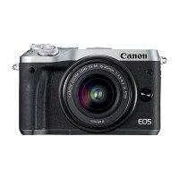 《新品》Canon(キヤノン)EOSM6EF-M15-45ISSTMレンズキットシルバー[ミラーレス一眼カメラ|デジタル一眼カメラ|デジタルカメラ]【KK9N0D18P】発売予定日:2017年4月上旬【EOSM6デビューキャンペーン対象】