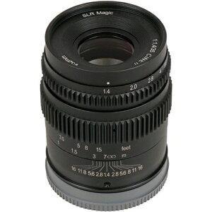 【商品到着後レビューで送料無料!・代引き手数料無料!】《新品》 SLR Magic 35mm T1.4 Cine-M...
