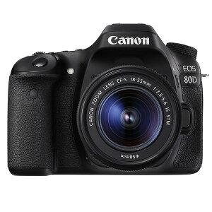 《新品》 Canon(キヤノン) EOS 80D EF-S18-55 IS STM レンズキッ…