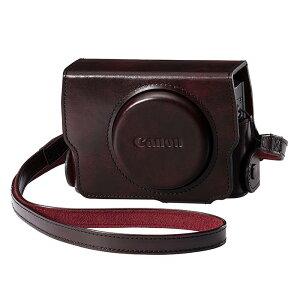 《新品アクセサリー》 Canon(キヤノン) ソフトケース CSC-G8 ブラウン ブラウン …