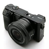 《新品》SONY(ソニー)α6000パワーズームレンズキットILCE-6000LBブラック[ミラーレス一眼カメラ デジタル一眼カメラ デジタルカメラ]【¥5,000-キャッシュバック対象】