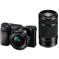 《新品》SONY(ソニー)α6000ダブルズームレンズキットILCE-6000YBブラック発売予定日:2014年3月14日