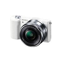 《新品》SONYα5100パワーズームレンズキットILCE-5100Lホワイト発売予定日:2014年9月5日