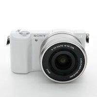 《新品》SONY(ソニー)α5100パワーズームレンズキットILCE-5100Lホワイト[ミラーレス一眼カメラ デジタル一眼カメラ デジタルカメラ]【¥5,000-キャッシュバック対象】