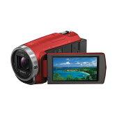 【あす楽】《新品》SONY (ソニー) デジタルHDビデオカメラレコーダー HDR-CX680 R レッド [ ビデオカメラ ] 【KK9N0D18P】