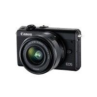《新品》Canon(キヤノン)EOSM100ダブルレンズキットブラック[ミラーレス一眼カメラ|デジタル一眼カメラ|デジタルカメラ]【KK9N0D18P】発売予定日:2017年10月上旬
