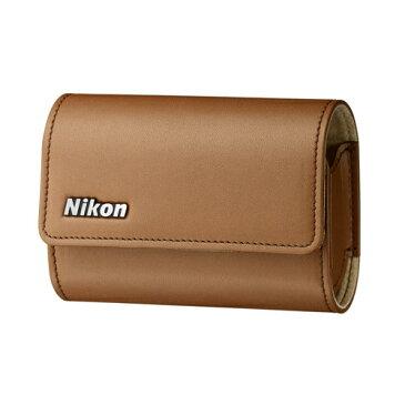 《新品アクセサリー》 Nikon (ニコン) カメラケース CS-NH55BR ブラウン【KK9N0D18P】〔メーカー取寄品〕