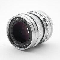 《新品》Voigtlander(フォクトレンダー)ULTRON35mmF1.7VintageLineAsphericalVMシルバー[Lens|交換レンズ]