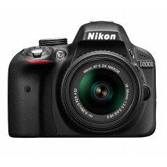 【商品到着後レビューで送料無料!・代引き手数料無料!】《新品》 Nikon(ニコン) D3300 18-5...