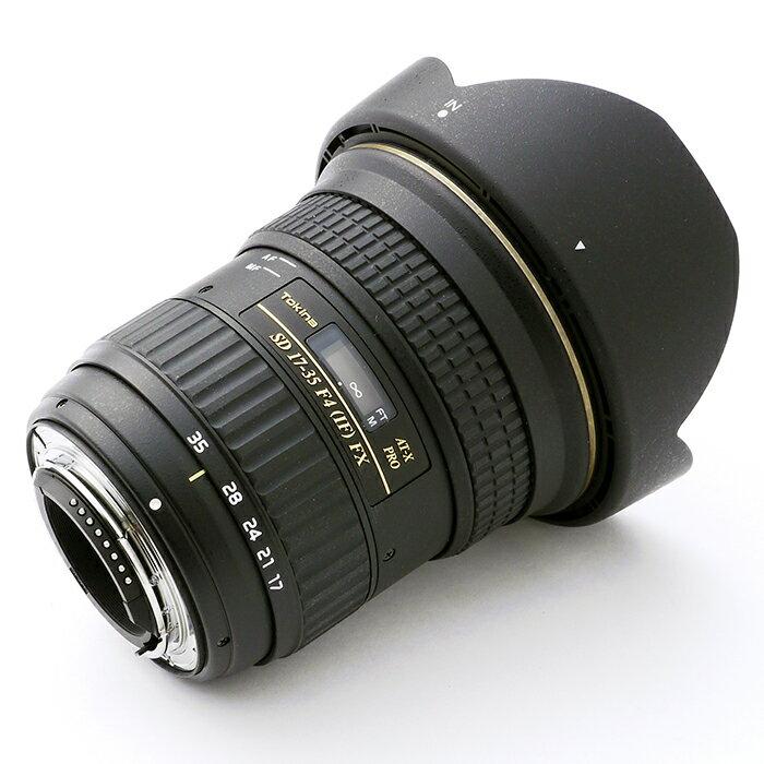 《新品》 Tokina(トキナー) AT-X 17-35mmF4 PRO FX(ニコン用)【MapCamera購入特典!メーカー保証2年付き】[ Lens | 交換レンズ ]【KK9N0D18P】