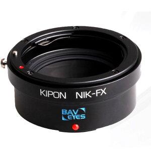 《新品アクセサリー》 KIPON フォーカルレデューサーアダプター ニコンFレンズ/フジフイル…