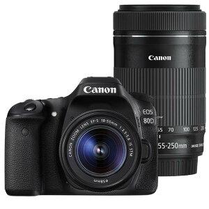 《新品》 Canon(キヤノン) EOS 80D ダブルズームキット 【SPECIAL GEA…