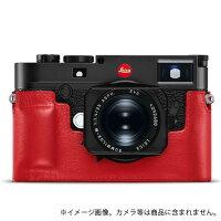 《新品アクセサリー》Leica(ライカ)M10用レザープロテクターレッド対応機種:M10発売予定日:2月【KK9N0D18P】