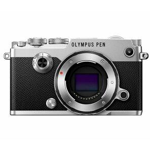 《新品》 OLYMPUS (オリンパス) PEN-F ボディ シルバー[ ミラーレス一眼カメラ…