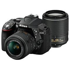 【商品到着後レビューで送料無料!・代引き手数料無料!】《新品》 Nikon (ニコン) D5300 ダブ...