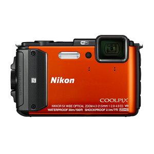 《新品》 Nikon (ニコン) COOLPIX AW130 オレンジ [ コンパクトデジタルカメラ ]〔納期未定・予約商品〕
