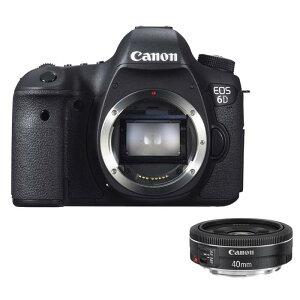 【商品到着後レビューで送料無料!・代引き手数料無料!】《新品》 Canon EOS 6D+EF40mm F2.8 ...