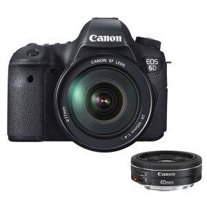 【商品到着後レビューで送料無料!・代引き手数料無料!】《新品》 Canon EOS 6D EF24-105L+EF...
