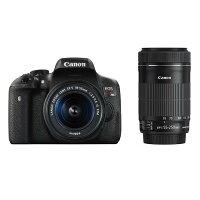 《新品》Canon(キヤノン)EOSKissX8iダブルズームキット[デジタル一眼カメラ|デジタルカメラ]発売予定日:2015年4月下旬