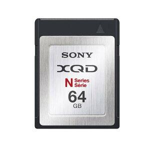 《新品アクセサリー》 SONY(ソニー) XQDメモリーカード Nシリーズ 64GB QD-N…